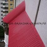 Krysha balkona krasnaya_008