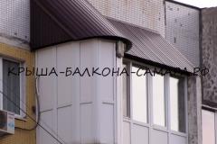 Krysha balkona shokolad