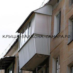 Ремонт крыши балкона Хрущёвки