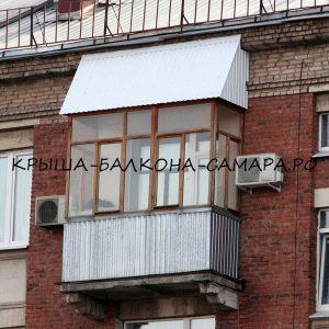 Кровля балкона Сталинка 5й этаж