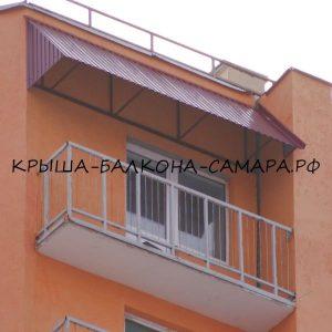 Независимая крыша над балконом